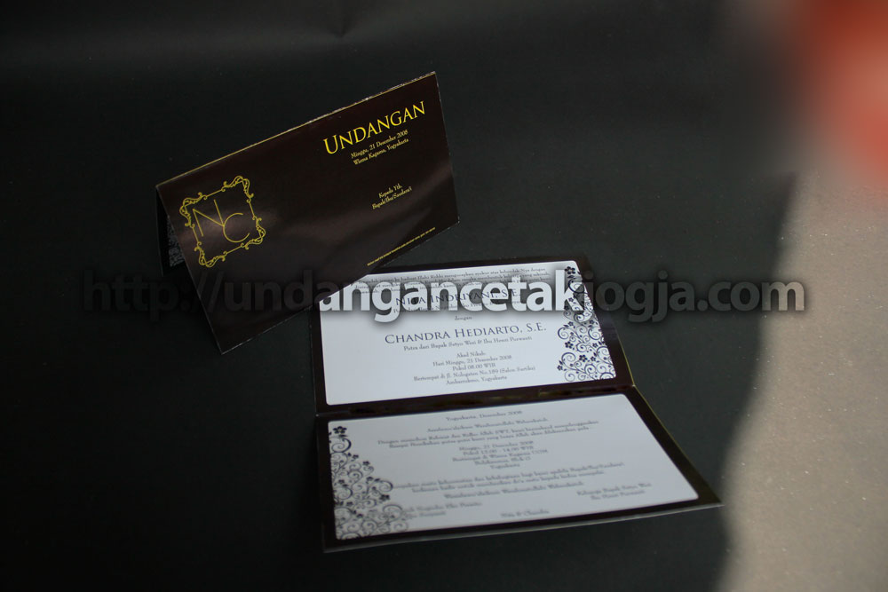 Undangan Etnik Jawa  Nita & Chandra