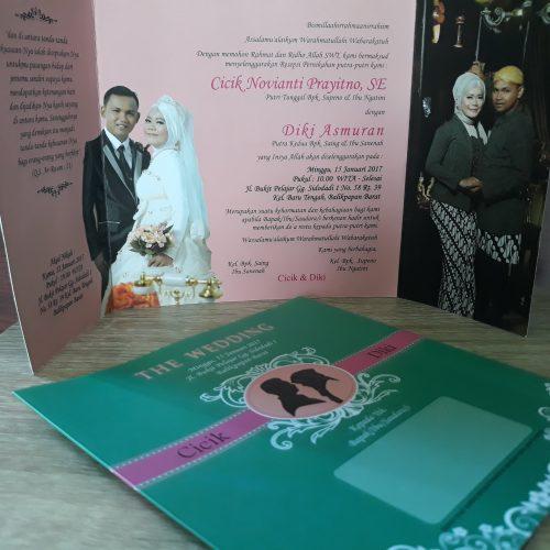 Undangan Pernikahan Siluet