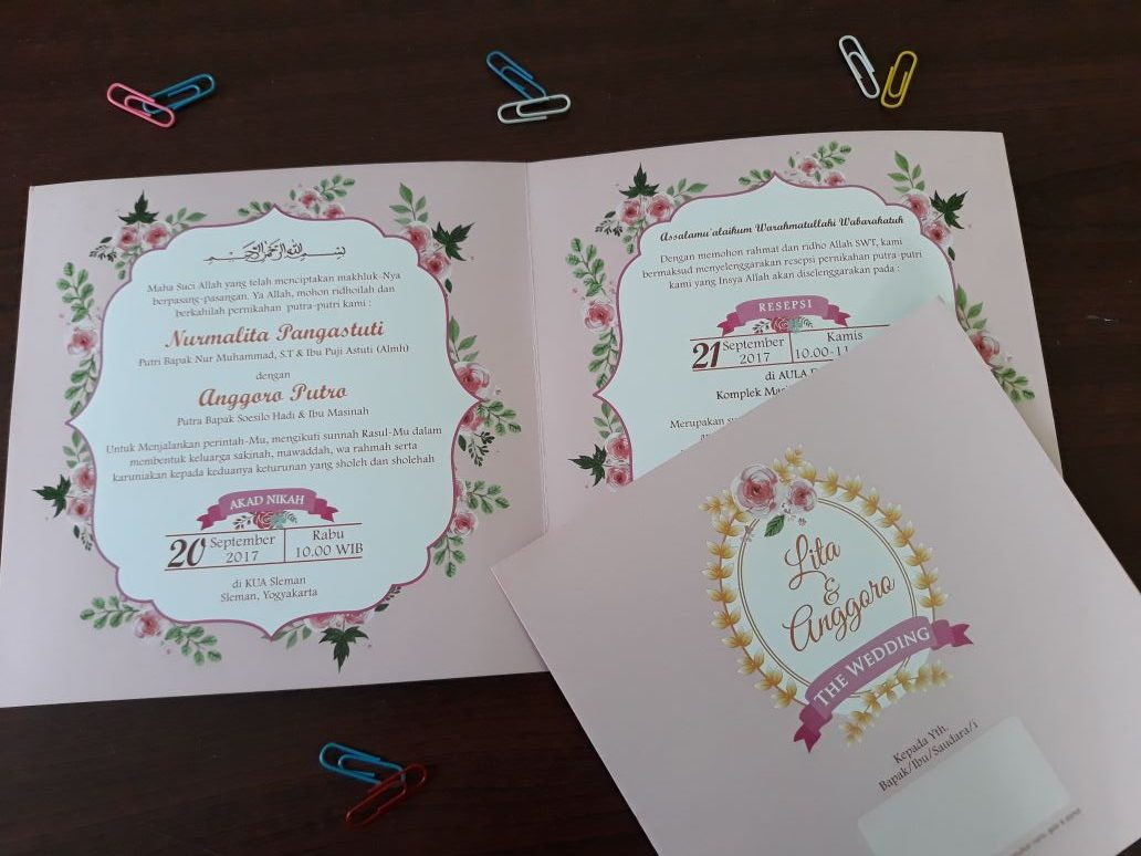 Undangan Pernikahan Murah SoftCover