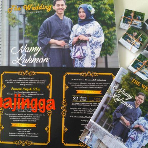 undangan pernikahan fullcolour