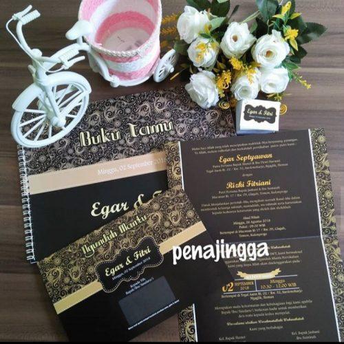Undangan Pernikahan Klasik Egar-Fitri