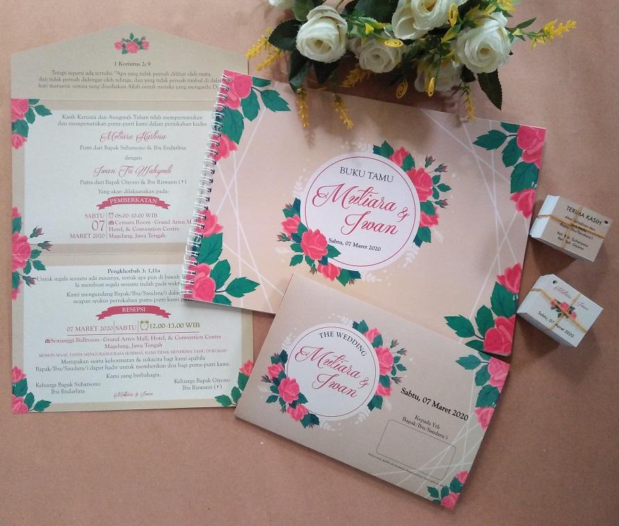 Undangan Pernikahan Tema Vintage