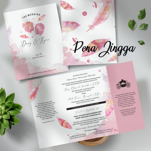 Undangan Pernikahan Jogja Blangko