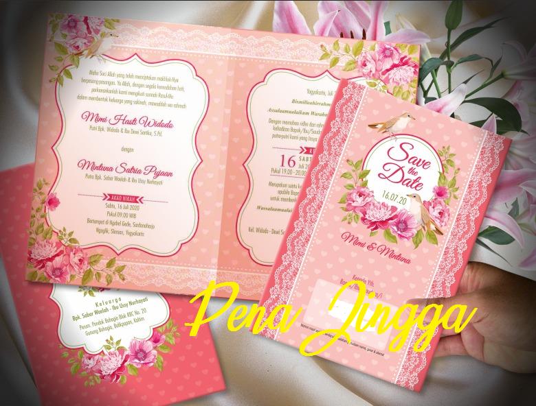 Undangan Pernikahan Jogja Floral