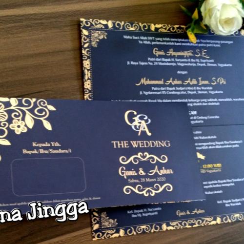 Undangan Pernikahan Jogja Vintage